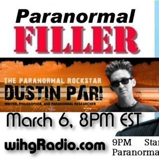 Dustin Pari On Paranormal Filler