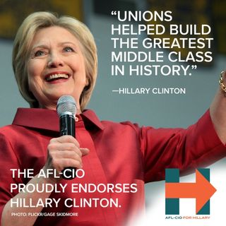 USW & AFL-CIO Endorse Hillary Clinton for President