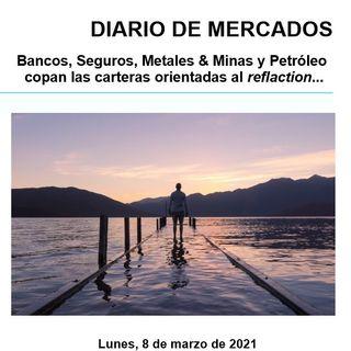 DIARIO DE MERCADOS Lunes 8 Marzo