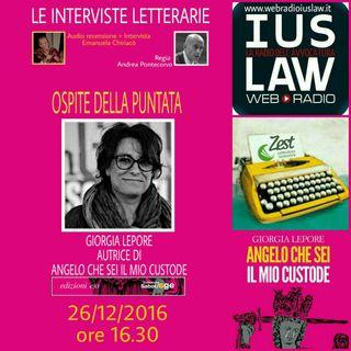 Le interviste letterarie Speciale 26 dicembre Giorgia Lepore