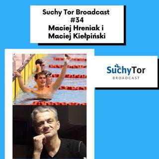 Czy pływanie jest jak taniec? Maciej Hreniak i Maciej Kiełpiński w Suchy Tor Broadcast #34