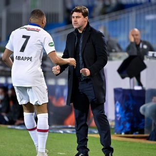 Pochettino dice que Mbappé está contento en PSG