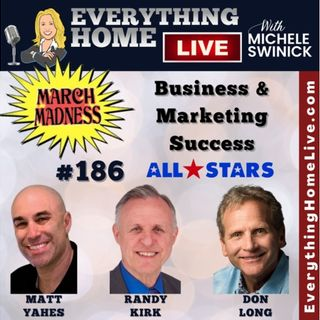 186 LIVE: MARCH MASKLESS MADNESS - Business & Marketing Success - All Star Team