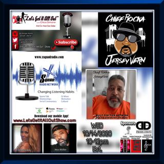 "10-14-2020 - Our Special Guest Today Is Built For This Network's Very Own, Vernon Ricks a.k.a ""Chief Rocka Jerseyvern""!"