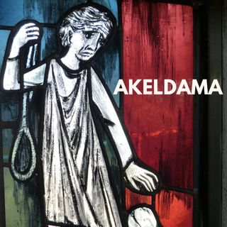 What is the significance of Akeldama in the Bible?