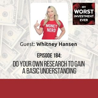 Whitney Hansen – Do Your Own Research to Gain a Basic Understanding