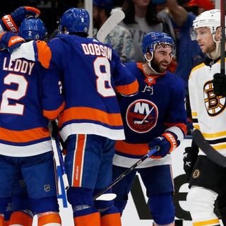 Episode 11 - Beantown Sports Wolfcast Pivotal Bruins game five against the Islanders