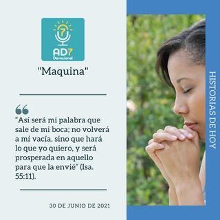 """30 de junio - """"Máquina"""" - Devocional de Jóvenes - Etiquetas Para Reflexionar"""