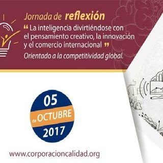 """Jornada de reflexión: """"Pensamiento creativo para la innovación, emprendimiento tecnológico y comercio internacional"""""""