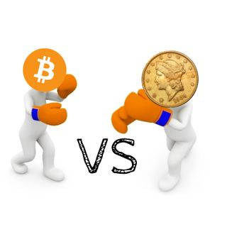 #044 Bitcoin vs oro