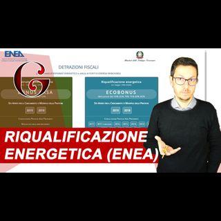 DETRAZIONI per RIQUALIFICAZIONE ENERGETICA DELLE PARTI COMUNI DEGLI EDIFICI: Ecobonus ed ENEA