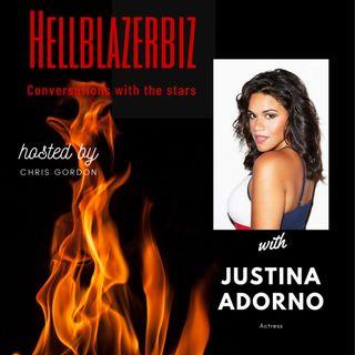 "Actress Justina Adorno talks ""Grand Hotel"" & more"