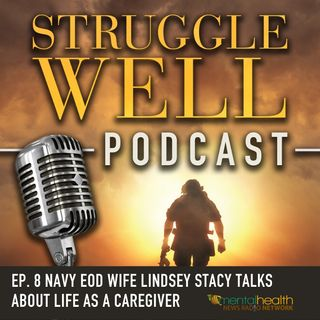 Navy EOD Wife Lindsey Stacy talks about life as a caregiver
