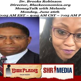 "Dr. Brooks Robinson, Director of Blackeconomics.org talks ""Donald Trump's New Deal for Black America - How is He Doing?"