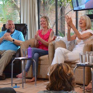 """Adventure Into the Heart of Awakening"" Retreat, ""Family Roles"" Panel with David, Svava, Jackie, Jenny, and Lisa"