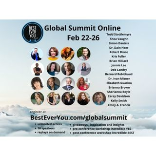 The Best Ever You Network Global Summit - Being Your Best