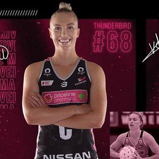Hannah Petty, captain of @AdelaideTBirds in @SuperNetball