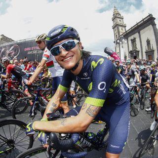 Winner Anacona tras etapa 15