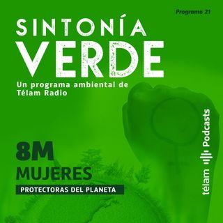 8M - Mujeres protectoras del planeta