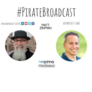 Catch Matt Zinman on the PirateBroadcast