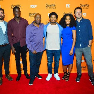 EXCLUSIVE ATLANTA MEDIA SCREENING: FX's Snowfall w/ John Singleton & cast