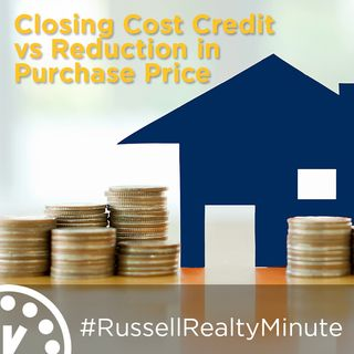 Closing Cost Credit vs Reduction in Purchase Price