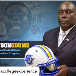 BCE-Pop-Up Talks:Dawson Odums, Head Football Coach Southern University