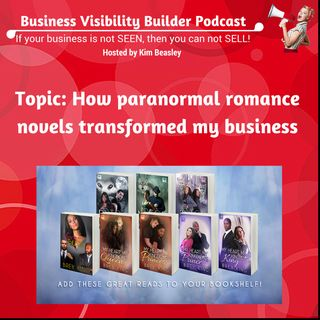 Paranormal romance novels helps grow business visibility