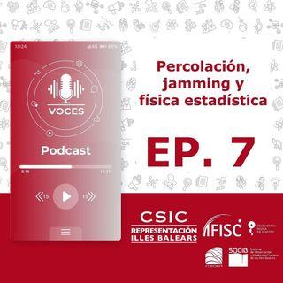 Percolación, jamming y física estadística | Voces, CSIC Balears #07