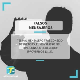16 de junio - Falsos mensajeros - Una Nueva Versión de Ti 2.0 - Devocional Jóvenes