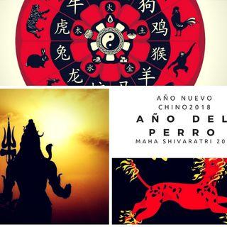 Año Nuevo Chino (año del perro) Maha Shivaratri y Lupercalia