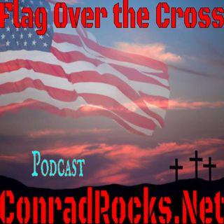 Flag Over the Cross