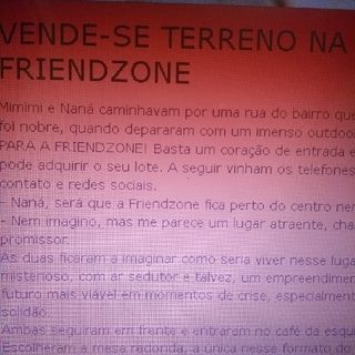 Vende-se Terreno na Friendzone