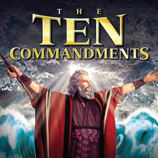 The movie Ten Commandments was about black people