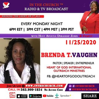 Step out of the I was and into the I am Guest Pastor Brenda T. Vaughn