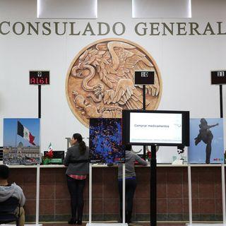 Consulado mexicano pendiente de connacionales en EU
