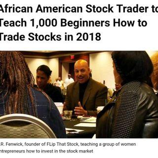 Stocks & Entrepreneurship (Flip that) on Black Wall Street Today ( #BlackWallStreetToday by #BlackBRAND )