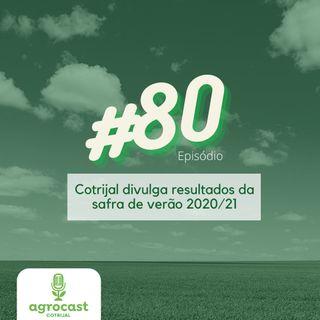 Cotrijal divulga resultados da safra de verão 2020/21