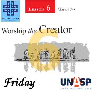 Sabbath School Aug-9 Friday