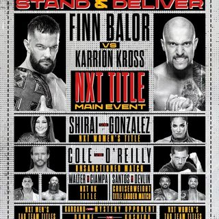 TV Party Tonight: NXT TakeOver - Stand & Deliver