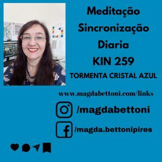 Meditação de Sincronização diária kin 259