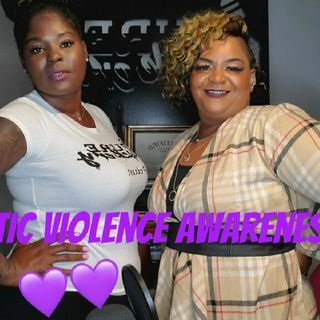 "Ep. 30 ""Cause October is Domestic Violence Awareness Month"""