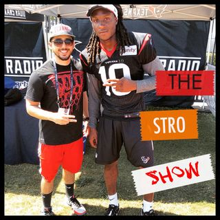 The J Stro Show - ALL TEXANS SHOW Pt1