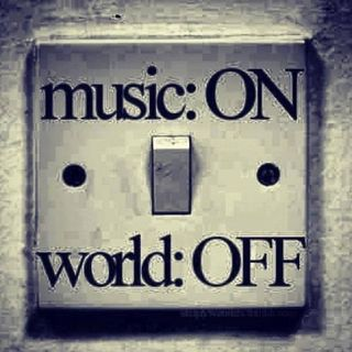 Music On...World Off