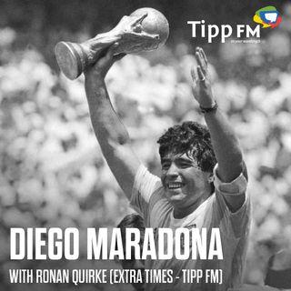 Ronan Quirke talks about Diego Maradona story