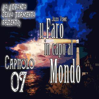 Audiolibro il Faro in capo al Mondo - Jules Verne - Capitolo 07