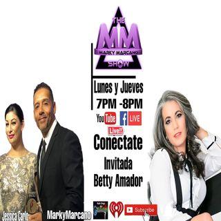 Betty Amador en TheMarkyMarcanoShow en Entrevista