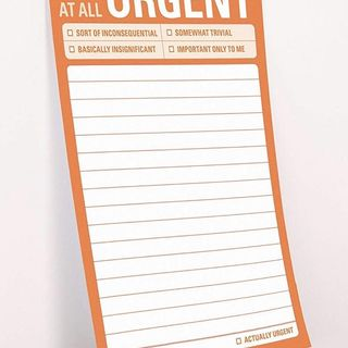 Urgent?