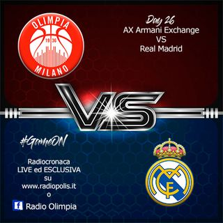 AX Armani Exchange vs Real Madrid