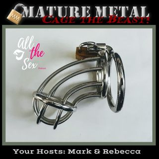Custom Steel Chastity from Mature Metal